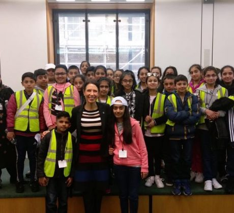Clarksfield School visit Parliament
