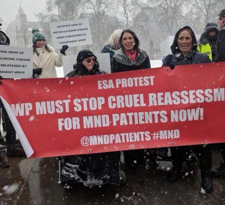ESA protest