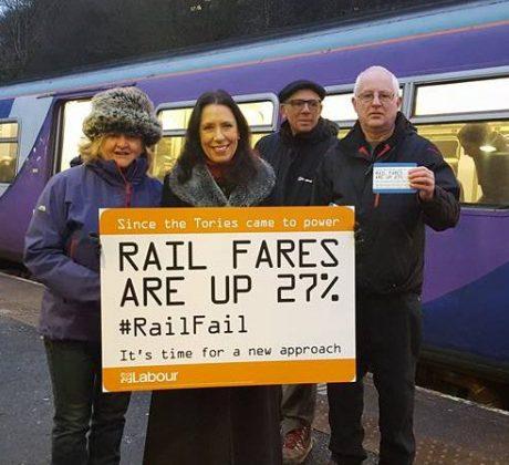 Rail fares campaign