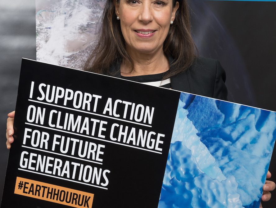 Debbie Abrahams Earth Hour